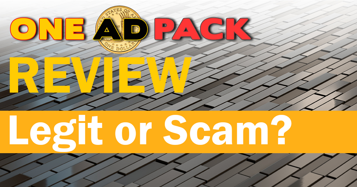 OneAdPack Review: Legit or Scam?
